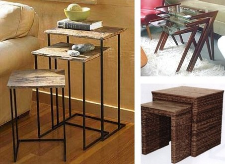 Small Table Sets Of Three Are My Favorite Occasional Tables For Feathering  My Own Nest. These Tables Can Divide And Conquer My Entertaining Needs When  Lots ...